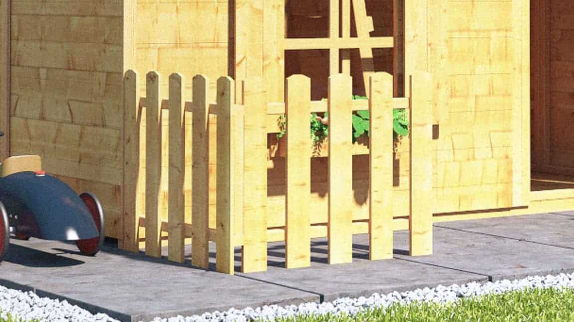 Playhouse Buying - fencing