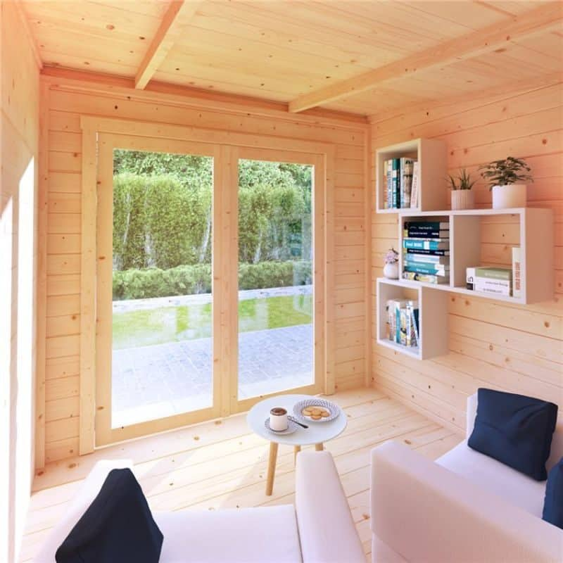your Tianna Log Cabin Summerhouse can be a haven of relaxation