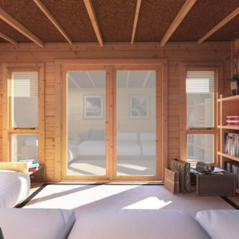 Storage Shed - BillyOh Carmen Log Cabin Summerhouse