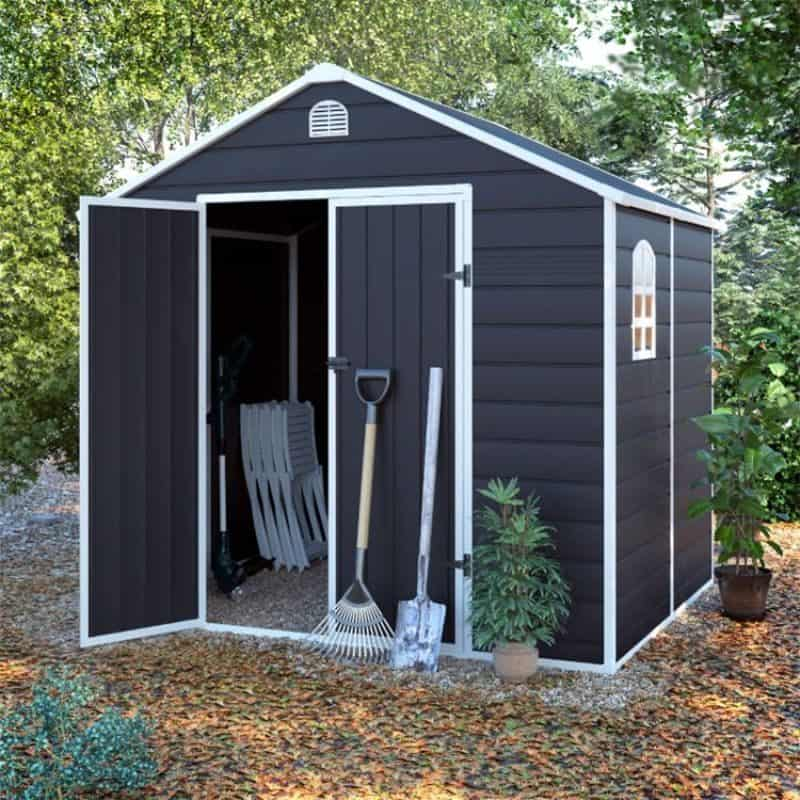 plastic shed maintenance