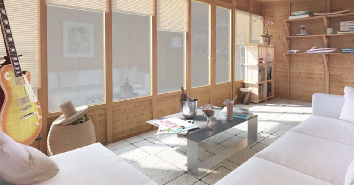 Summer house insulation
