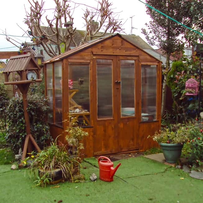 zxczxc Christines BillyOh 4000 Lincoln Wooden Greenhouse