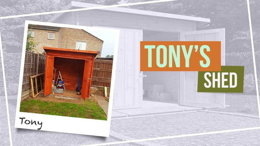 Tony's BillyOh Pent Log Cabin Windowless Heavy Duty Shed Range