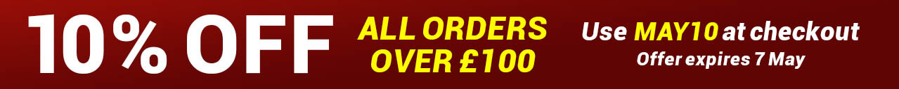 10% Off All Orders Over £100