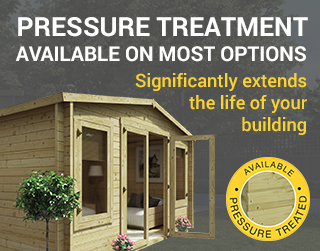Pressure treated available on most options