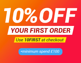10% Off All Orders Over £200
