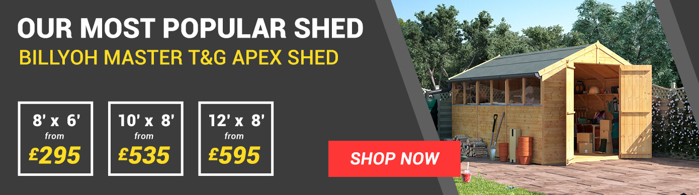 our most popular shed