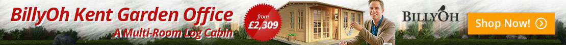 Log cabins garden offices for sale fast free delivery Garden office kent