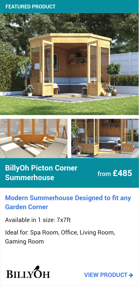 BillyOh Picton Corner Summerhouse
