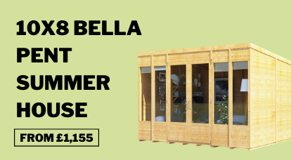 bella pent summerhouse 26864