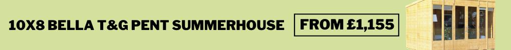 bella pent summerhouse