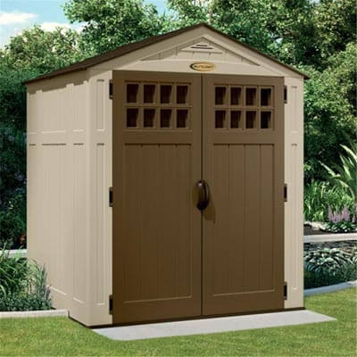 Charming Plastic Sheds