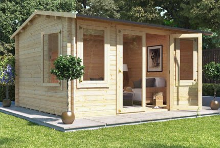 Garden Sheds And Summerhouses summer houses & garden summerhouses for sale - garden buildings direct