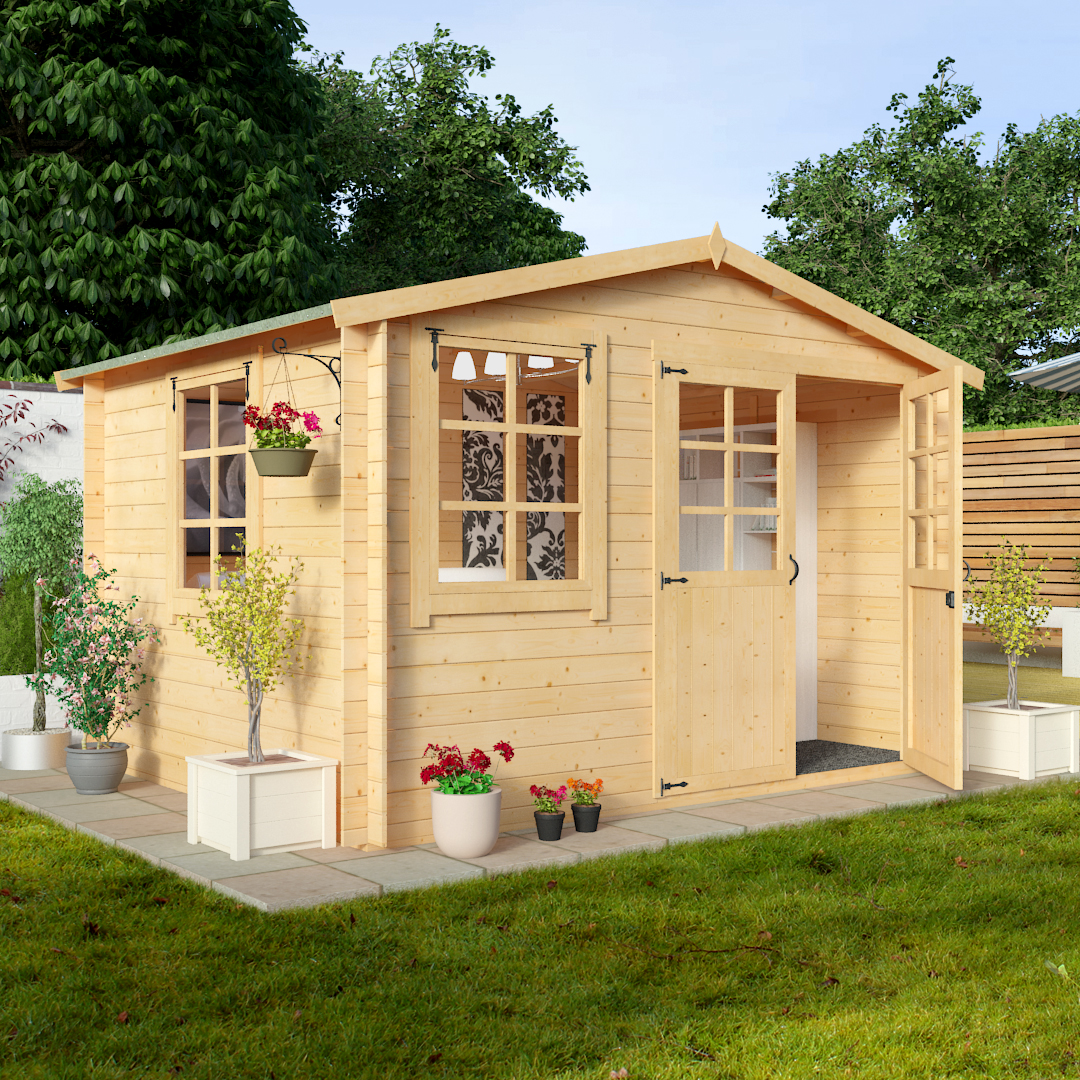 BillyOh 3.0 x 2.5m Clubman Log Cabin