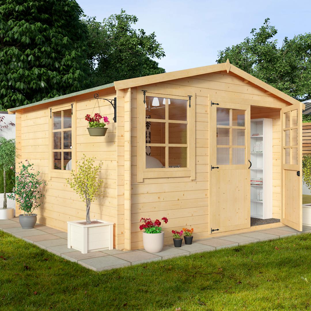BillyOh 3.0 x 3.0m Clubman Garden Log Cabin