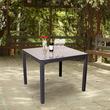 Keter 1m Rattan Garden Furniture - Sumatra Table