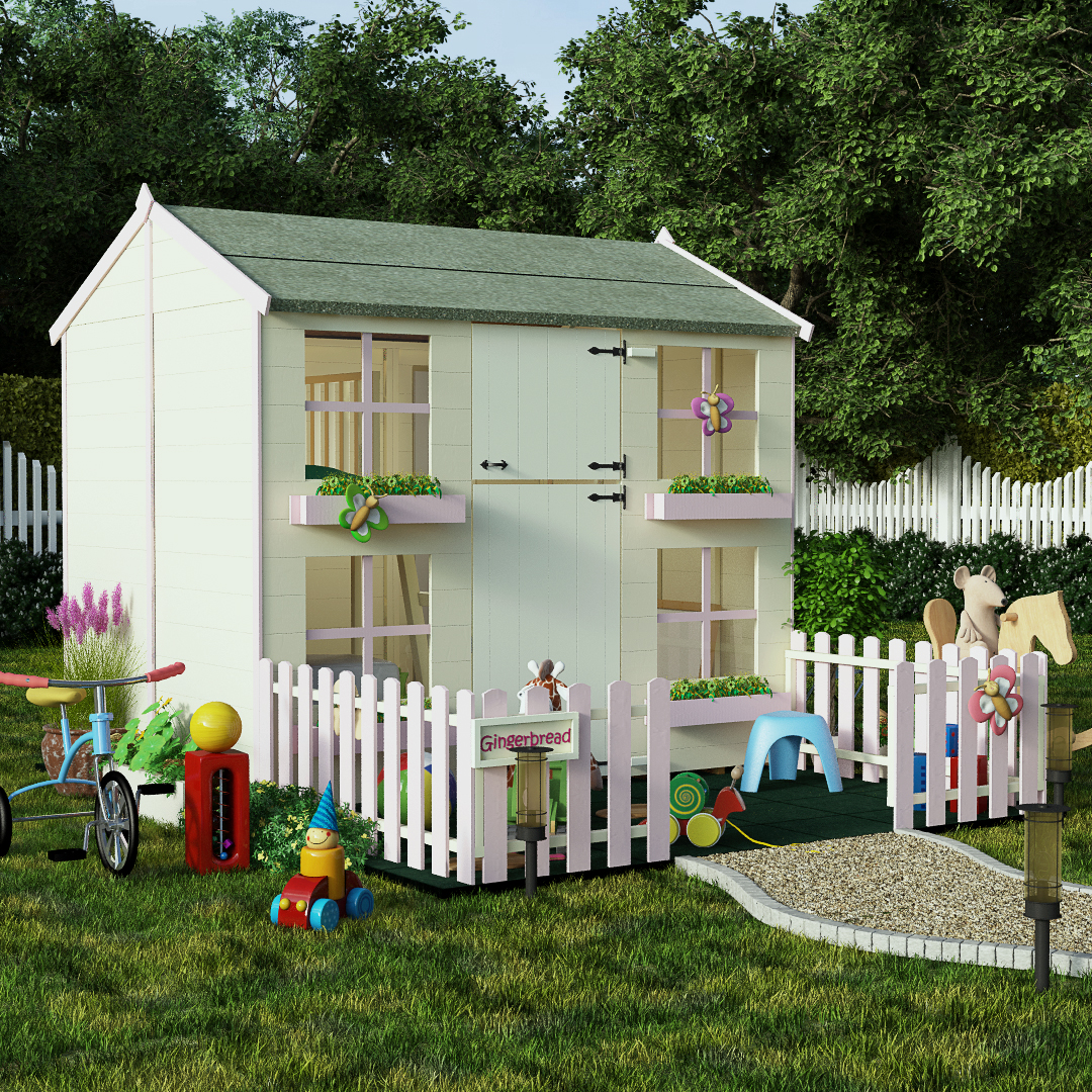 7x5 Two Storey Playhouse with Bunk - BillyOh Mad Dash Tower Xtra Childrens Play house