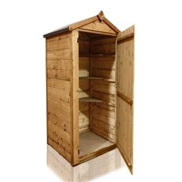 3 x 2 BillyOh Tongue and Groove Tall Sentry Box Petite Log Store Shed