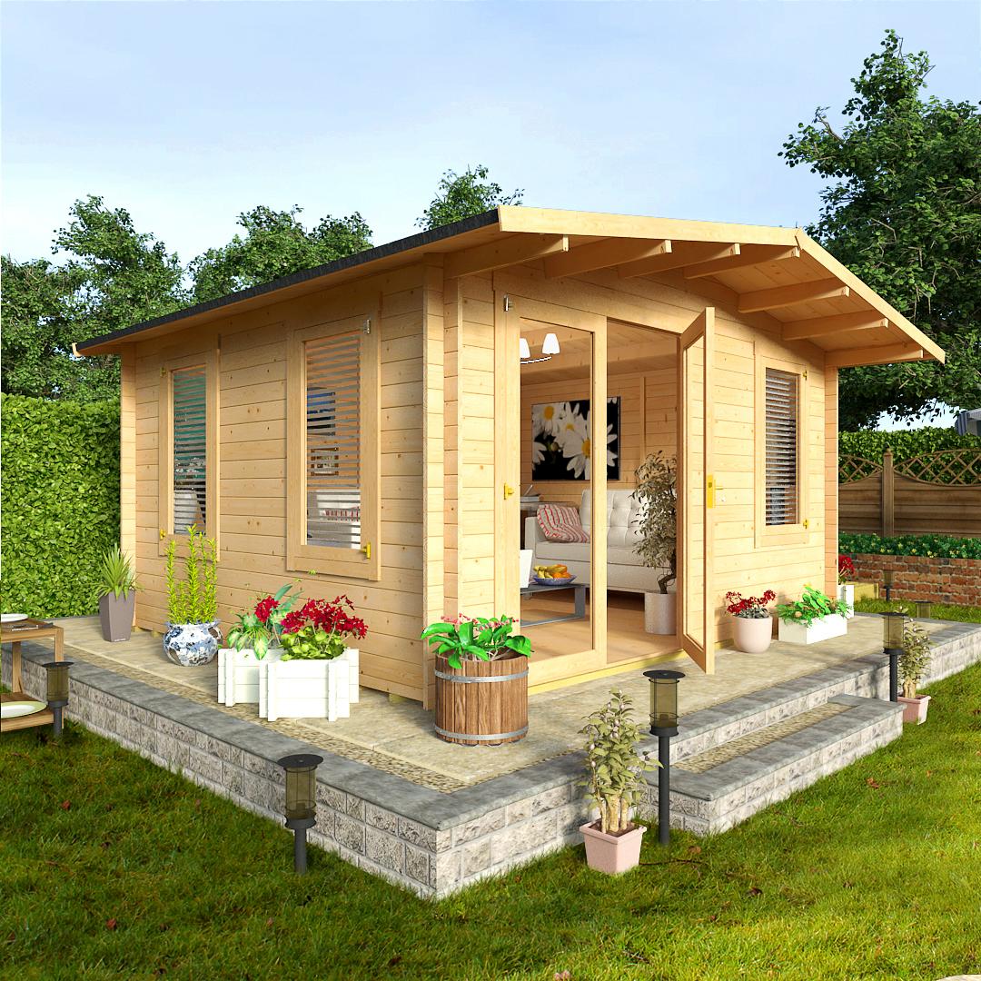 BillyOh 4.0 x 4.0 Montana Garden Log Cabin
