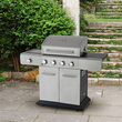 Outback Meteor 4 Burner Gas BBQ Barbecue