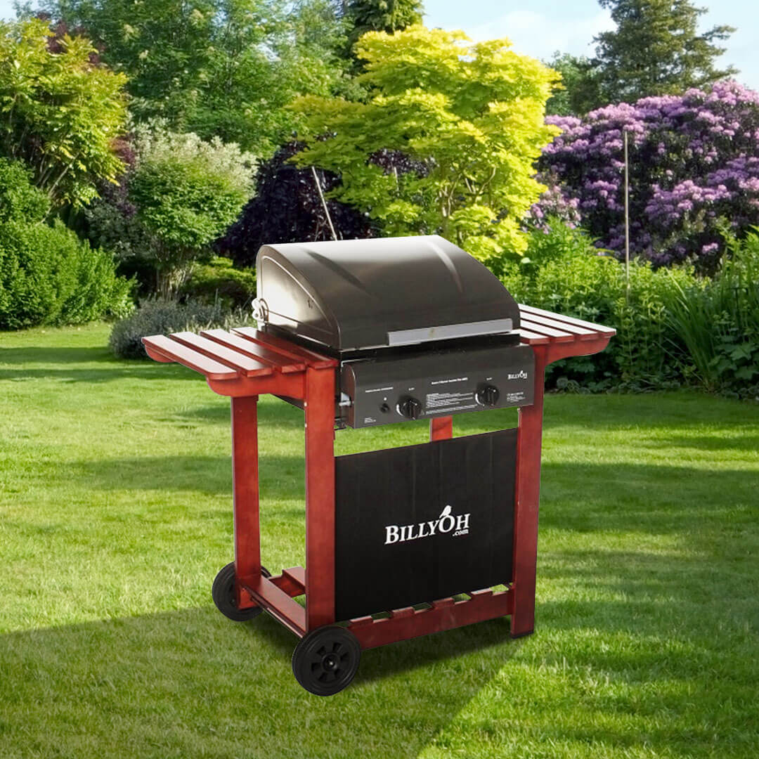 BillyOh 2 Burner Hooded Acorn Hooded Gas BBQ
