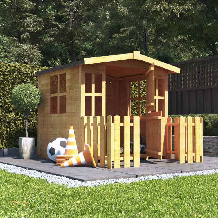 BillyOh Bunny Wooden Childrens Playhouse 4x4