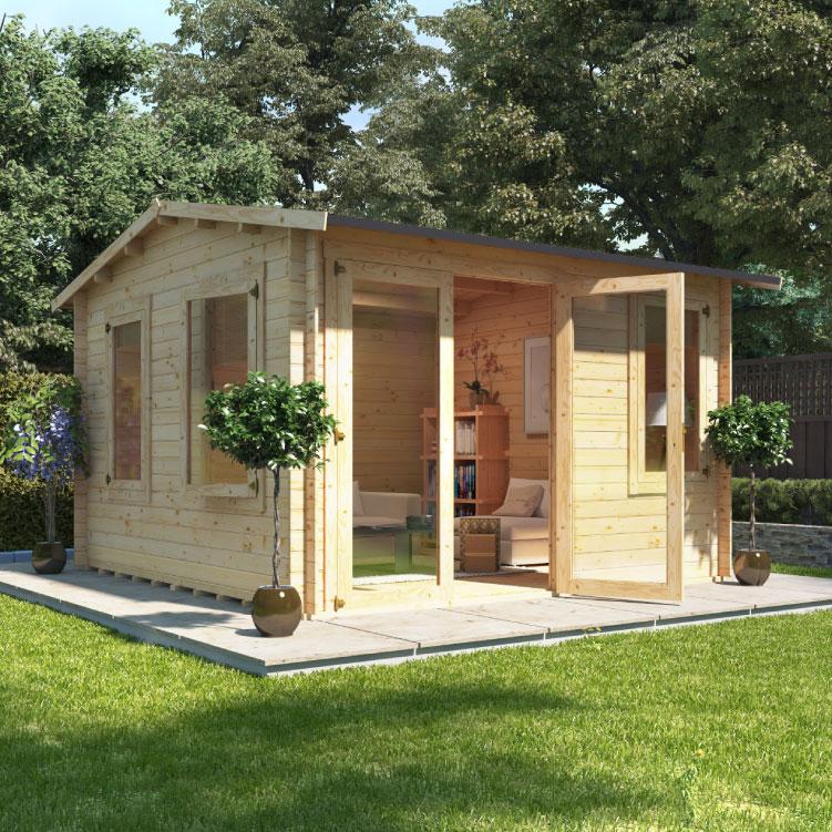 Image of BillyOh Derwent Log Cabin - Derwent - W3.5m x D3.5m