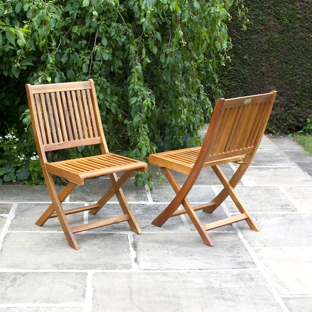 BillyOh Windsor 8 x Portable Folding Outdoor Chairs