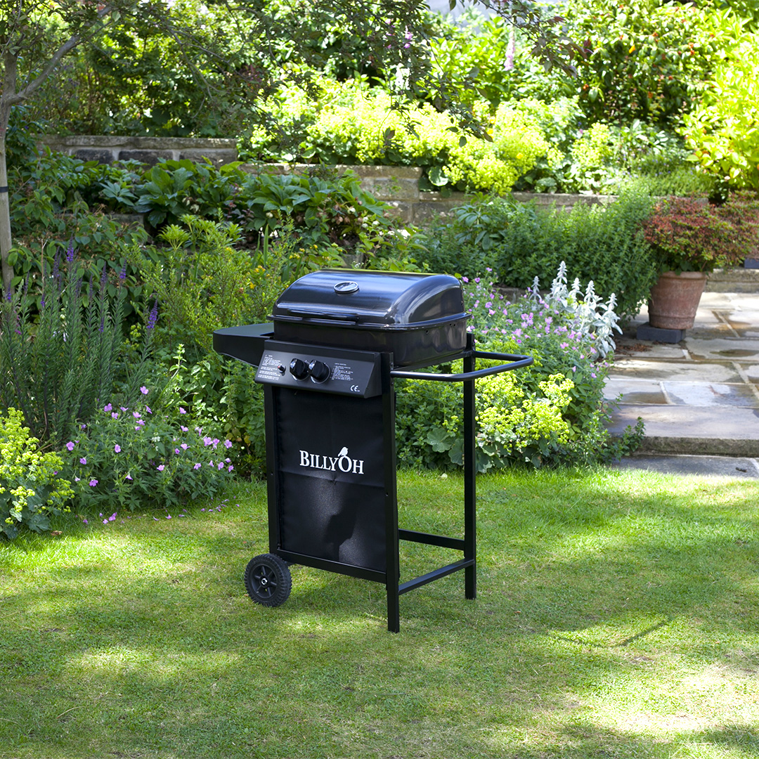 BillyOh Patio Grill 2 Burner Hooded Gas Barbecue
