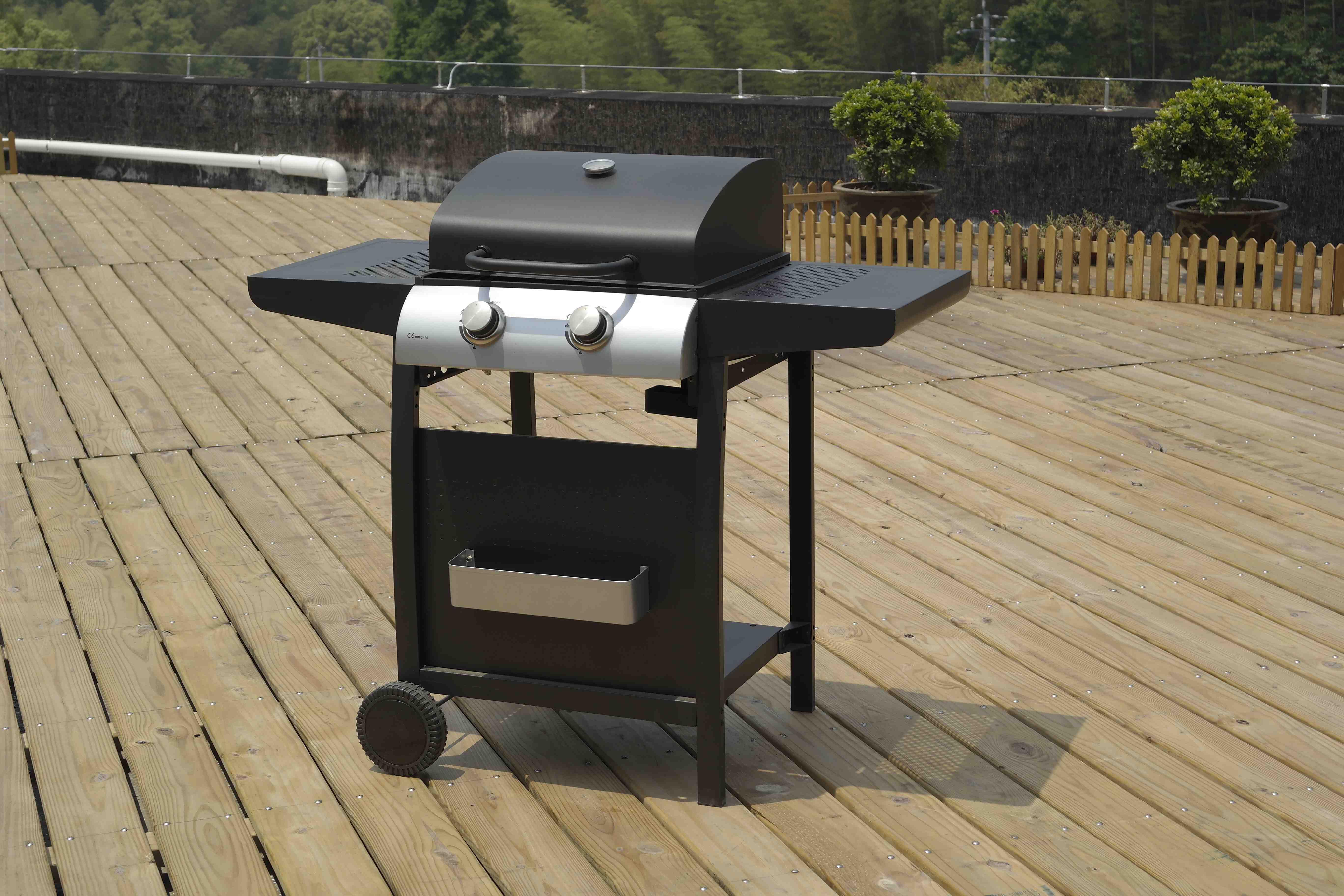 BillyOh Garden Grill 2 Burner Hooded Gas BBQ