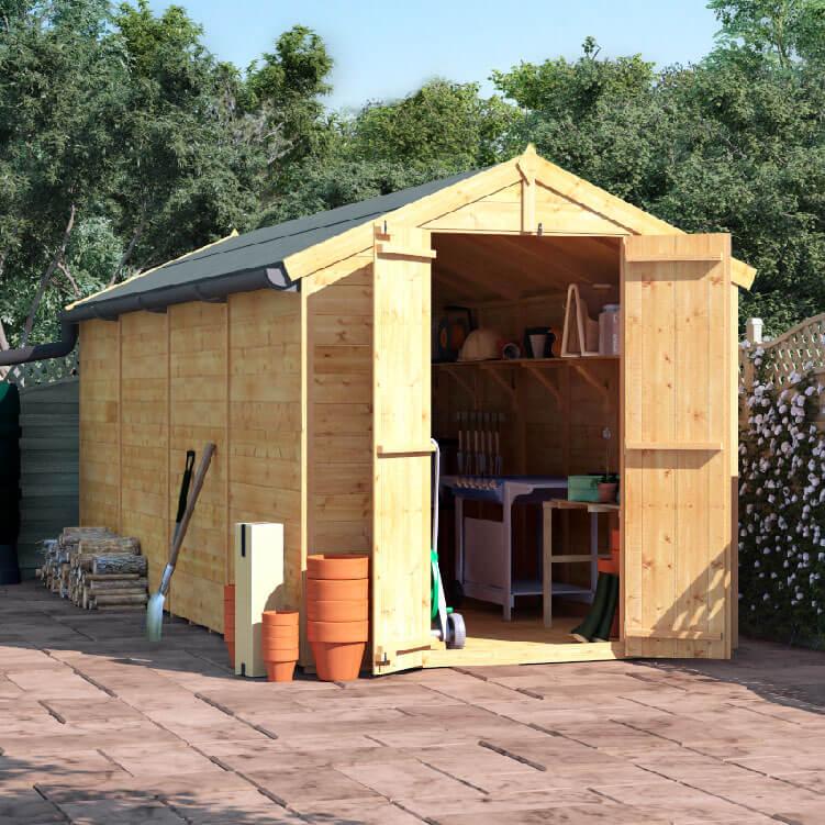 16x6 T&G Apex Windowless - BillyOh Master Garden Shed