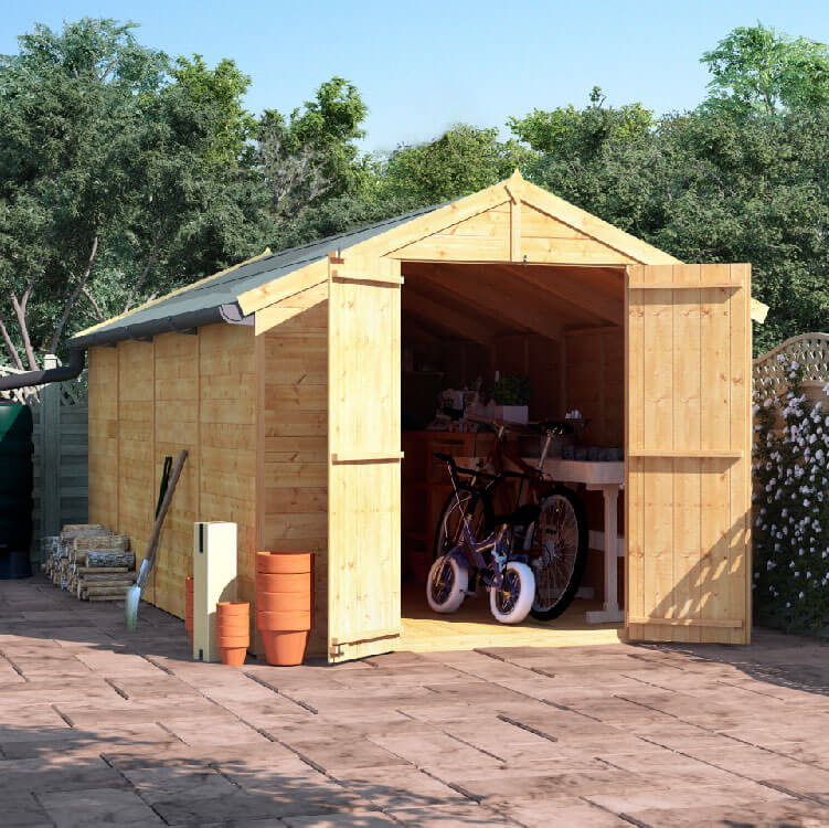 16x8 T&G Apex Windowless - BillyOh Master Garden Shed