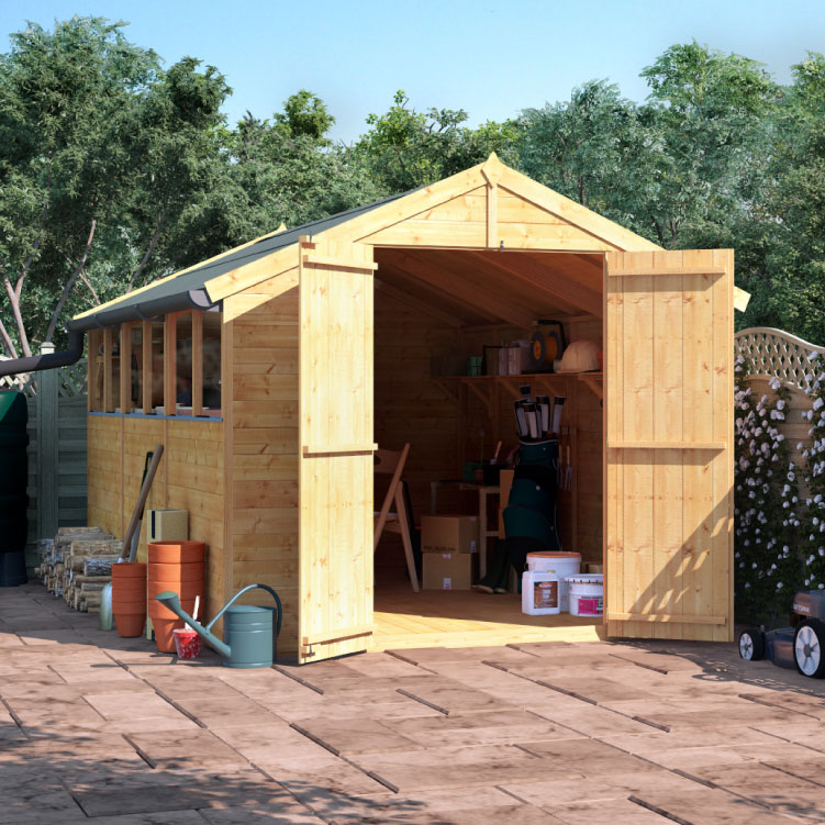 Image of BillyOh Master Tongue and Groove Apex Shed - PT-10x6 T&G Apex Windowed