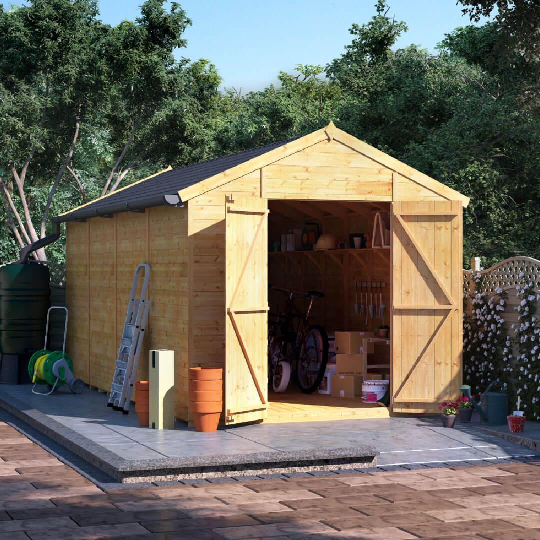 10x8 T&G Apex Windowless - BillyOh Expert Garden Shed
