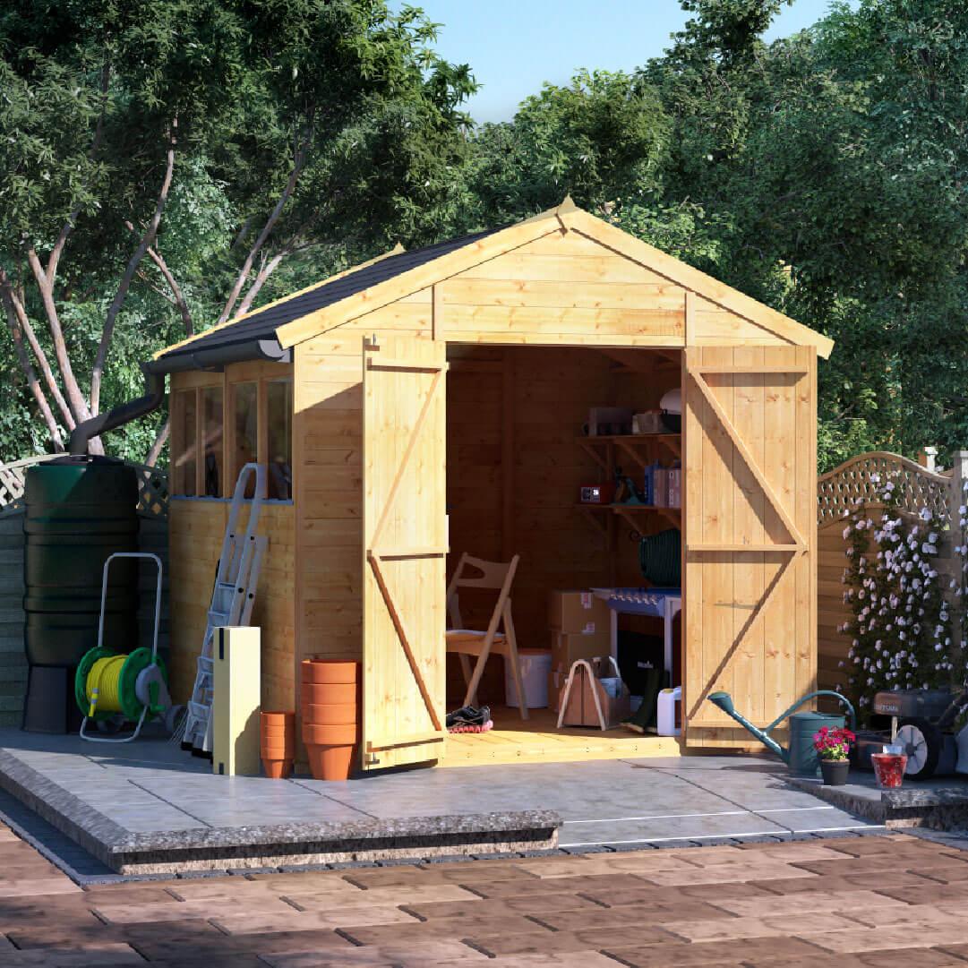 8x8 T&G Apex Windowed - BillyOh Expert Garden Shed