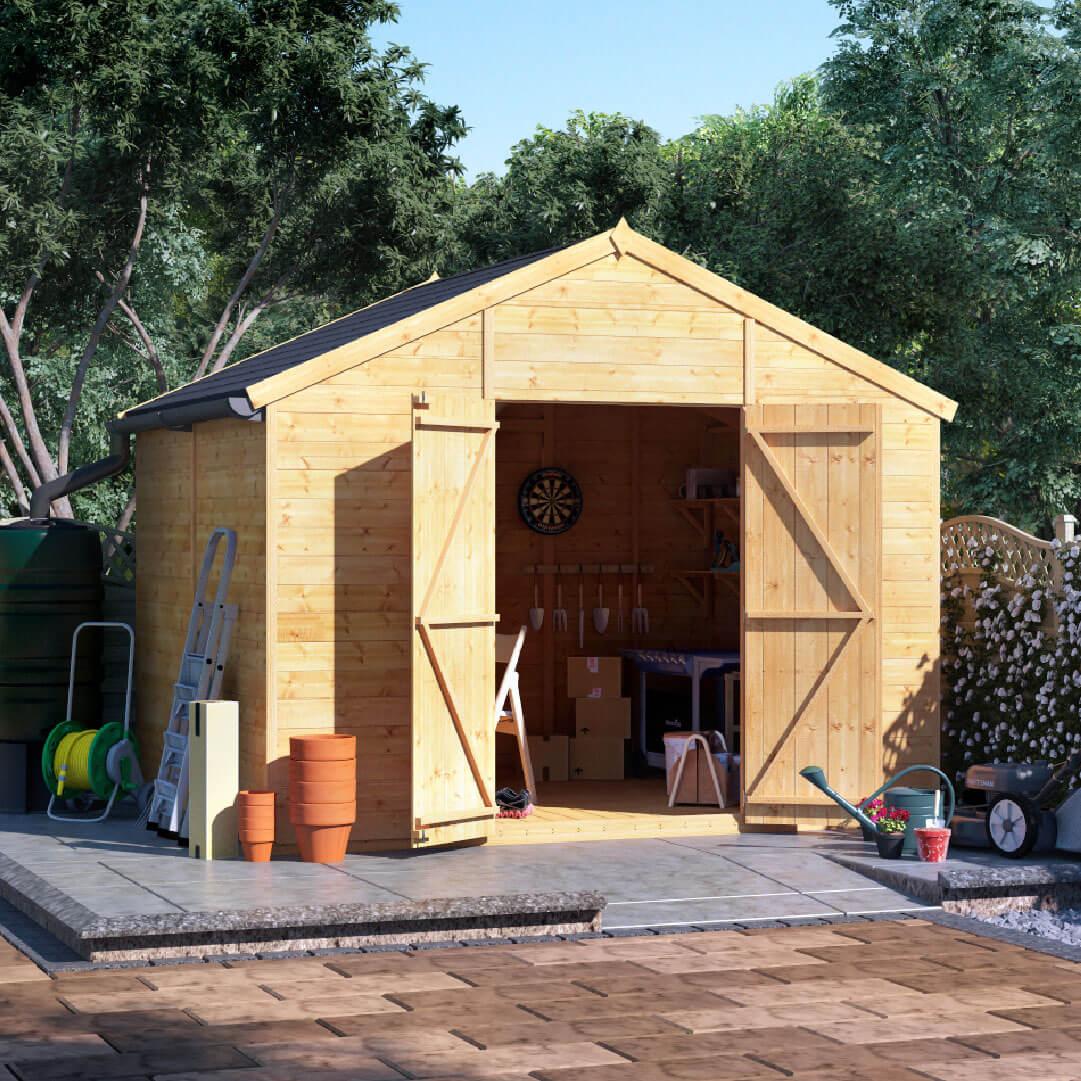 8x10 T&G Apex Windowless - BillyOh Expert Garden Shed