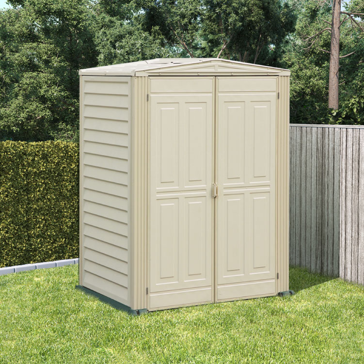 Click to view product details and reviews for Billyoh Yardmate Plastic Shed With Vinyl Floor 5x5.