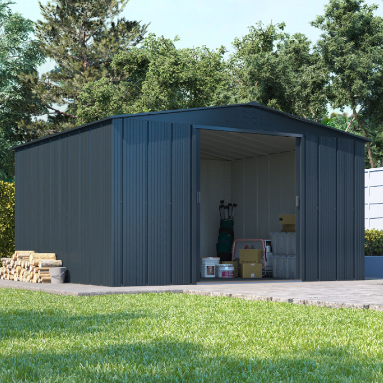 https://www.gardenbuildingsdirect.co.uk/images/products/18976/maingallery1/partner_top_shed_apex_roof_metal_shed_l01.jpg