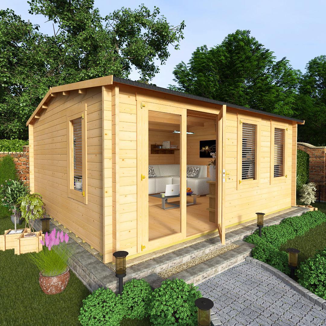 BillyOh 5.0 x 4.5 Devon Log Cabin Side Window