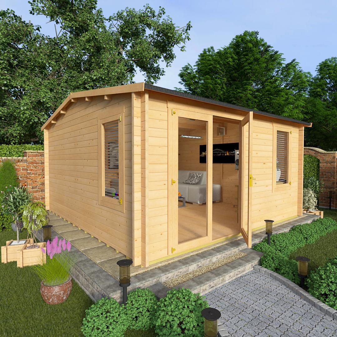 BillyOh 4.5 x 4.5 Devon Log Cabin Side Window