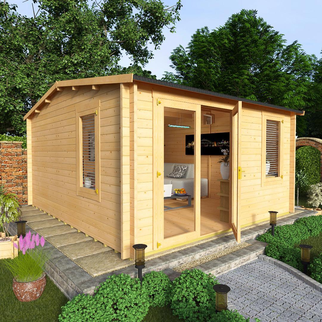 BillyOh 4.0 x 4.5 Devon Log Cabin Side Window