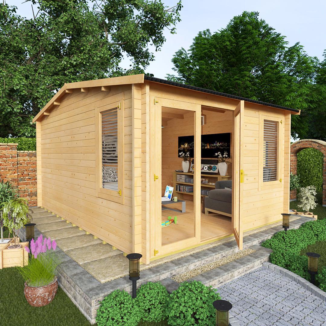 BillyOh 3.5 x 4.5 Devon Log Cabin Side Window