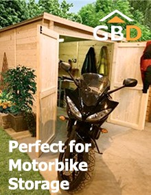 Garden Sheds: Perfect for Motorbike Storage